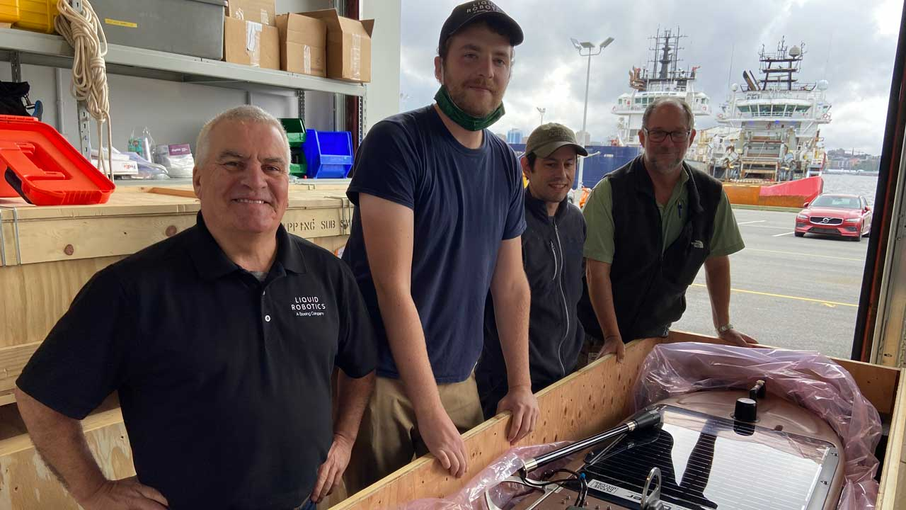Darrin and the Team from the Ocean Tracking Network