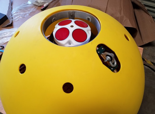 SeaWATCH ADCP buoy mounted