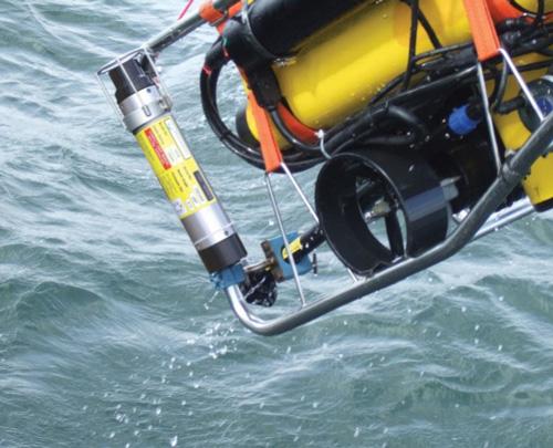 Positioning Beacon on ROV