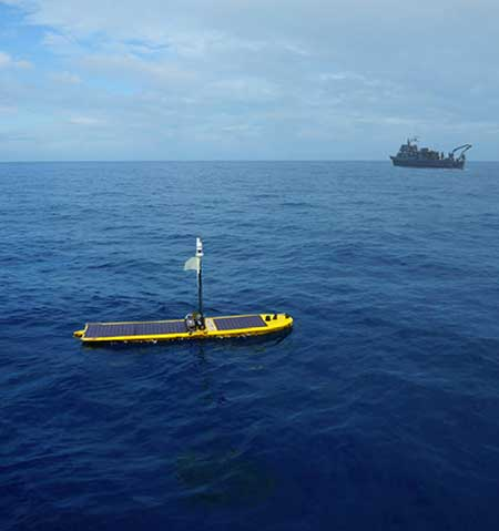 Wave Glider for Defense Applications