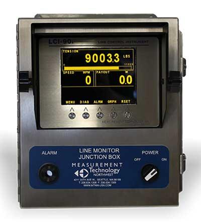 Line Monitoring Display for hazardous areas